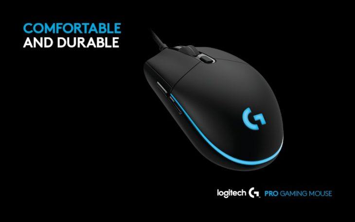 mouse de gaming Logitech