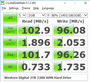 Hard diskul are viteze mici de transfer dar capacitate mare