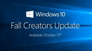 Fall creators Update disponibil din 17 octombrie