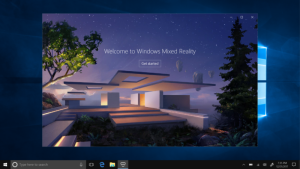 Mix Reality in Windows 10 Fall Creators Update